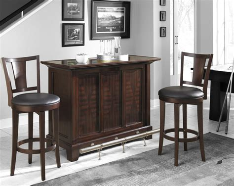 Bar Set by Home Styles Vista 3pc Bar Set Bar Two Stools