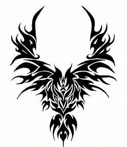 Trend Tattoos: Tribal Phoenix Tattoo
