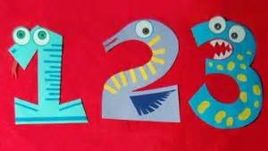 numbers craft idea for crafts and worksheets for 869   number craft idea for kids 4 300x169