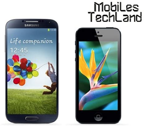 galaxy s4 vs iphone 5s samsung galaxy s4 vs iphone 5s is apple catching up