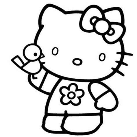 Hello Kitty Coloring PagesColoring Home