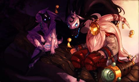 bard kindred lol wallpapers