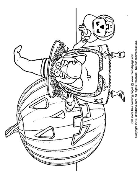 cartoon witch halloween  coloring pages  kids