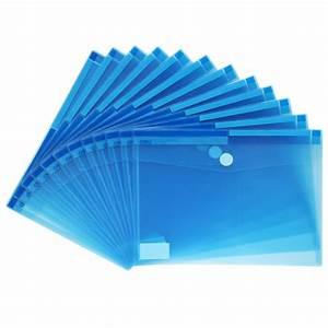 deli a4 transparent sticky kit plastic document holder With plastic document holder