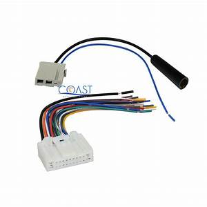Car Radio Stereo Wire Harness Antenna Combo For Select