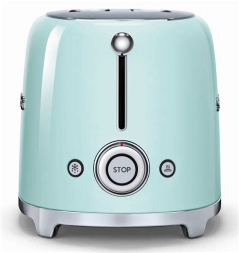 smeg tsf02 toaster f 252 r 4 scheiben im 50er jahre retro