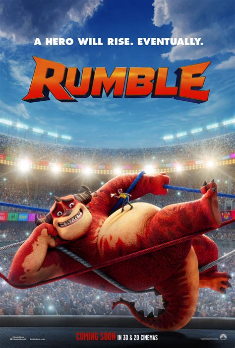 rumble monster poster  trailer revealed scifinow