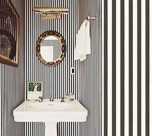 Papier Peint Rayé Noir Et Blanc : blog papiers peints de marques inspiration d coration ~ Dailycaller-alerts.com Idées de Décoration