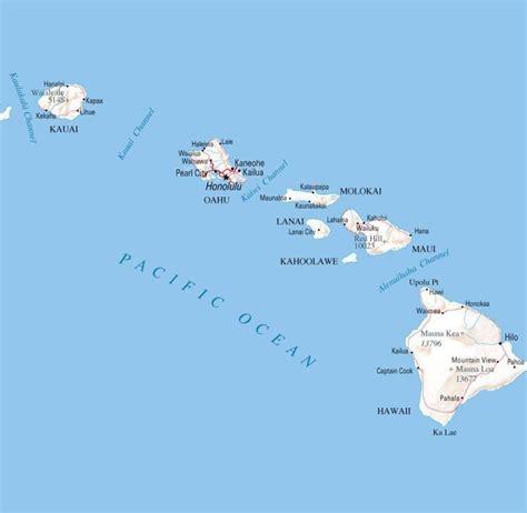 Hawaii Carte Du Monde by Carte Hawa 239 Carte Du Monde