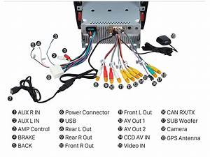 Single Car Stereo Radio Replacement Upgrade For 2003 2004