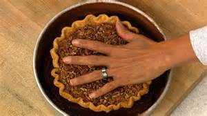 recipe learn to make quot the chew quot chef carla 39 s thanksgiving chocolate pecan piecake