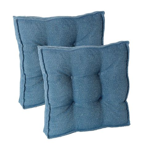 saturn wedge square 17 in x 17 in universal chair pads