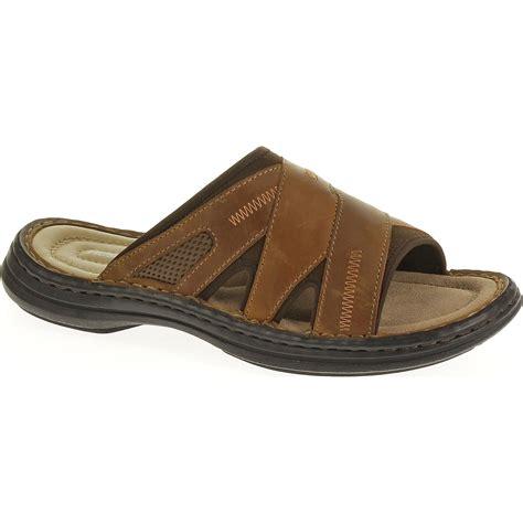 Scotty Slide Hush Puppies hush puppies s relief brown slide sandal