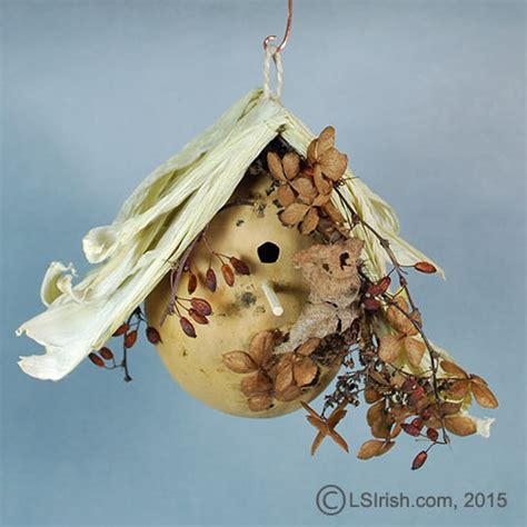 gourd ls gourd bee house free project by lora irish lsirish com