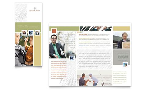 Adobe Tri Fold Brochure Template