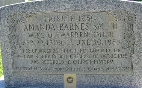 Amanda Melissa Barnes Smith (1809