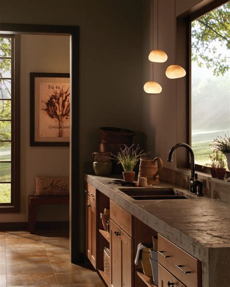 bamboo window shade honey maple cabinets kitchen contemporary with bronze