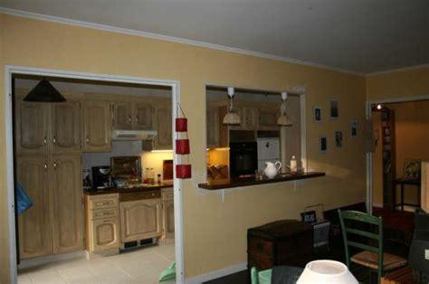 idee ouverture cuisine sur salon ouverture de la cuisine sur salon