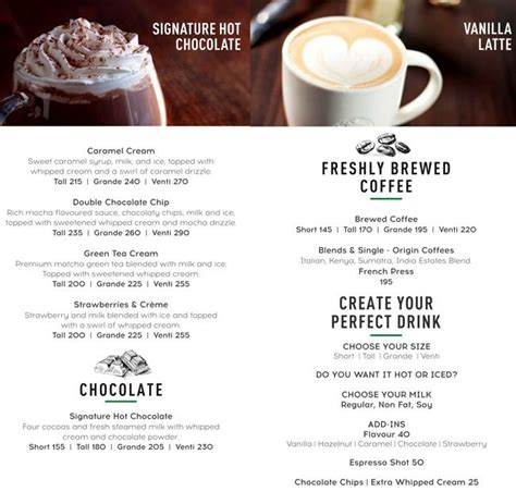 Explore new and favourite starbucks coffee, drink and food products. STARBUCKS COFFEE - LOKHANDWALA - MUMBAI Menu, Photos, Images and Wallpapers - MouthShut.com