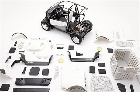honda reveals  printed electric car autocar