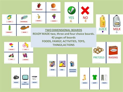choice board template speech language literacy llc aac choice boards for early communicators with pictures