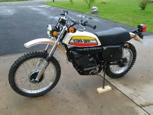 Vintage Can-Am Motorcycles for Sale