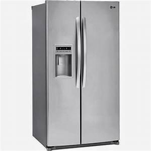 Lg Refrigerators For Sales  Lg Lsc27925st Side By Side Refrigerator