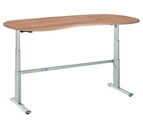 hauteur bureau bureau assis debout courbe ergo