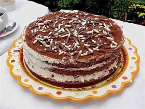 Torte Schnell Einfach : schnelle tiramisu torte mit kirschen rezept mit bild ~ Eleganceandgraceweddings.com Haus und Dekorationen