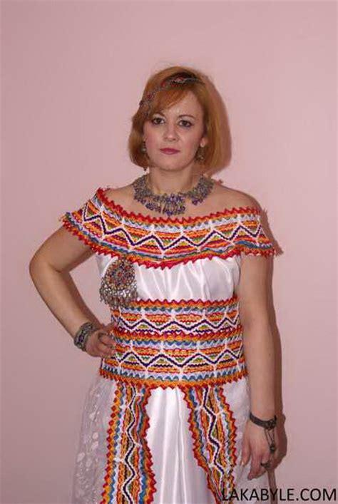 les robe kabyle moderne 2015