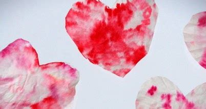 Home » kids » crafts » tie dye coffee filter valentine heart craft. Kids Creative Chaos: Pin it! Preschool Scavenger Hunt ...