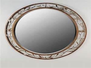 Oval Mirrors For Bathrooms Creative Bathroom Decoration