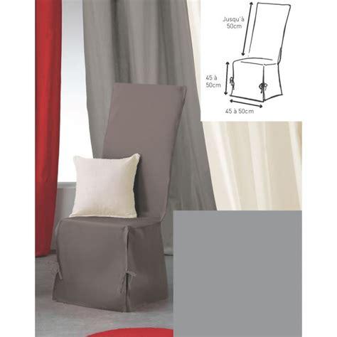 housse de chaise gris housse de chaise 50x50x50 panama gris achat vente