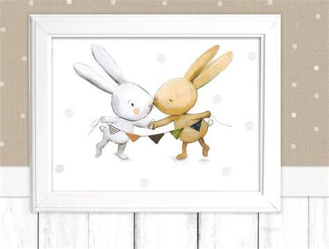 Babyzimmer Bilder Malen by Bilder Kinderbild Quot Hasen Quot F 252 Rs Kinderzimmer Poster