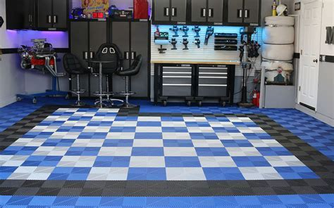 Garage Floor Tiles   Tranform & Customize with Premium