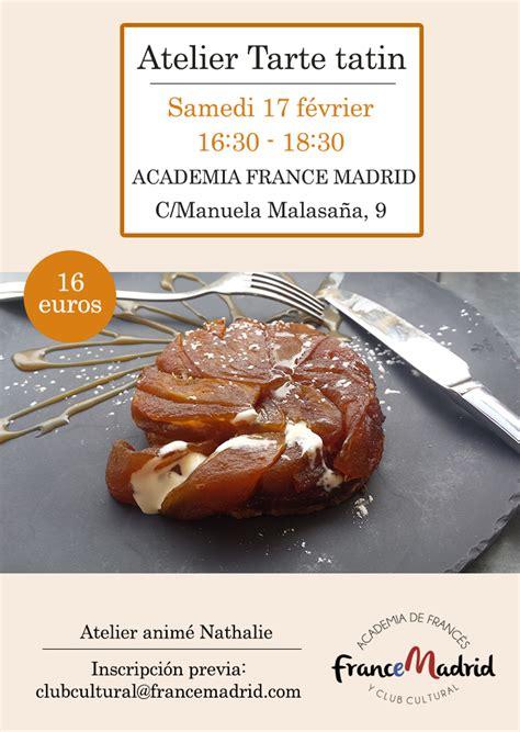 hervé cuisine tarte tatin atelier tarte tatin 17 02 18 madrid