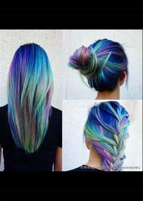 beautiful pastel hair colors  trending