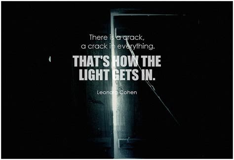 how the light gets in top 50 inspirational light quotes of all time