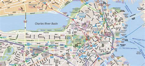 map  boston massachusetts interactive  printable