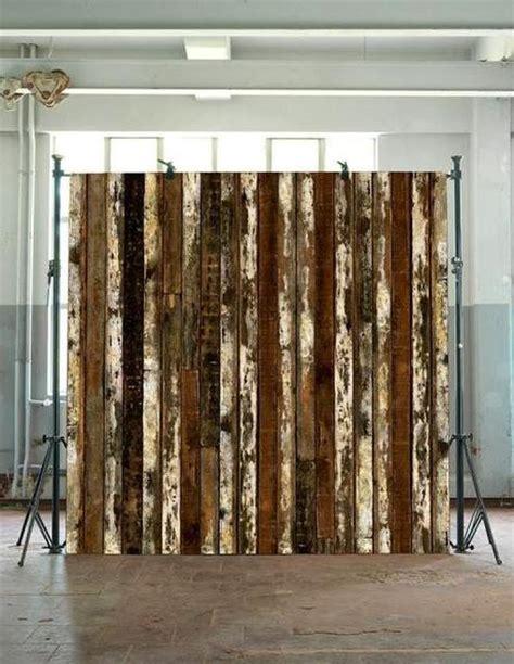 deco chambre mansardee papier peint trompe l 39 oeil imitation bois paperblog