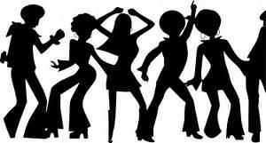 70 S Dancing Sihlouettes Clip Art At Clker Com Vector