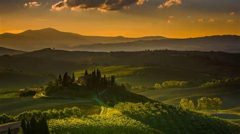 Wallpaper Tuscany, Italy, Landscape, 4k, Nature, #5451