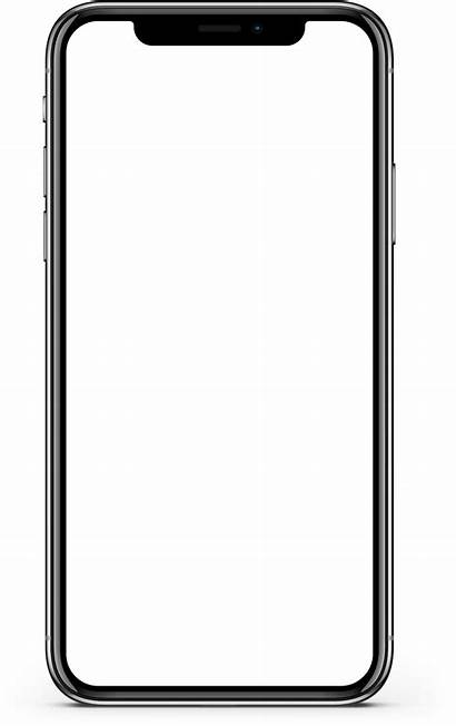 Iphone Transparent Mockup Clipart Clip Screen Mobile