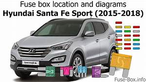 Fuse Box Location And Diagrams  Hyundai Santa Fe Sport