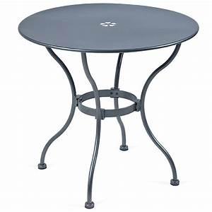 Gartenmöbel Tisch Rund : mbm tisch tondo 75 rund eisen gartenm bel art jardin ~ Indierocktalk.com Haus und Dekorationen