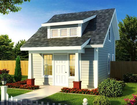 tiny cottage  guest quarters wm architectural designs house plans