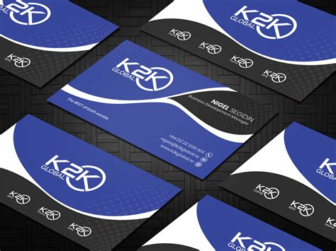 bold  business card design   company