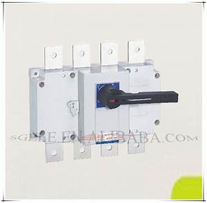 Isolation Switch Load Isolation Switch Manual Changeover