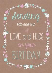 Sending Love An... Beautiful Love Birthday Quotes