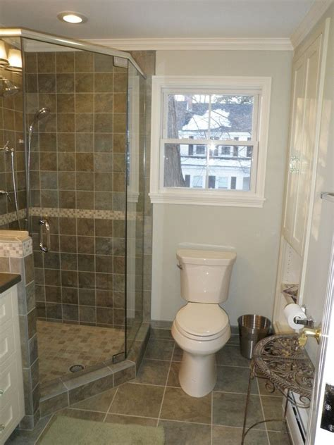 graceful corner showers  small bathrooms image gallery
